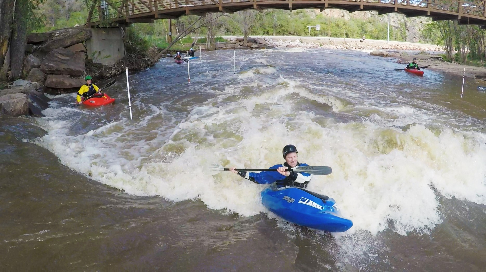 Whitewater Park in Lyons, CO